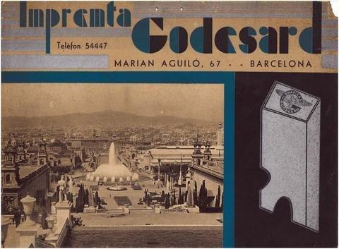 Calendario del año 1935